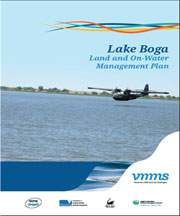 Cover of Lake Boga Land and On-Water Management Plan
