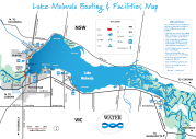 Lake Mulwala Map