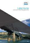 Lake Hume Land and On Water Management Plan (Current)