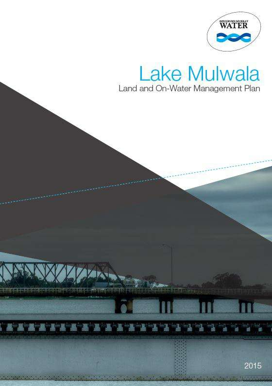 Lake Mulwala Land and On Water Management Plan (Current)