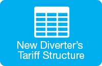 Diverter's tarriff structure