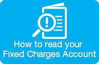 How to read your fixed charges account