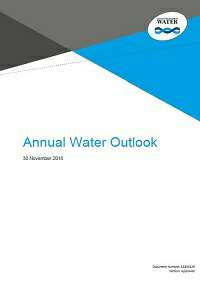 Annual Water Outlook
